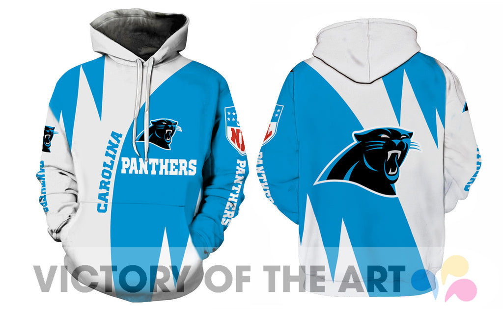 Stronger With Unique Carolina Panthers Hoodie
