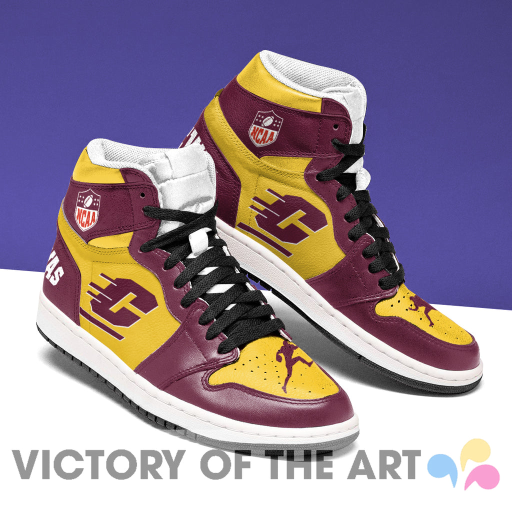 Simple Logo Central Michigan Chippewas Jordan Shoes