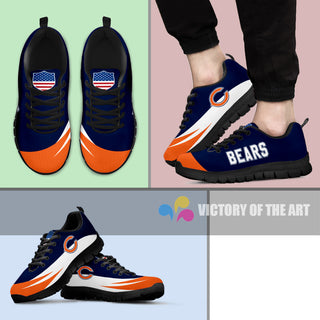 Special Gift Logo Chicago Bears Sneakers