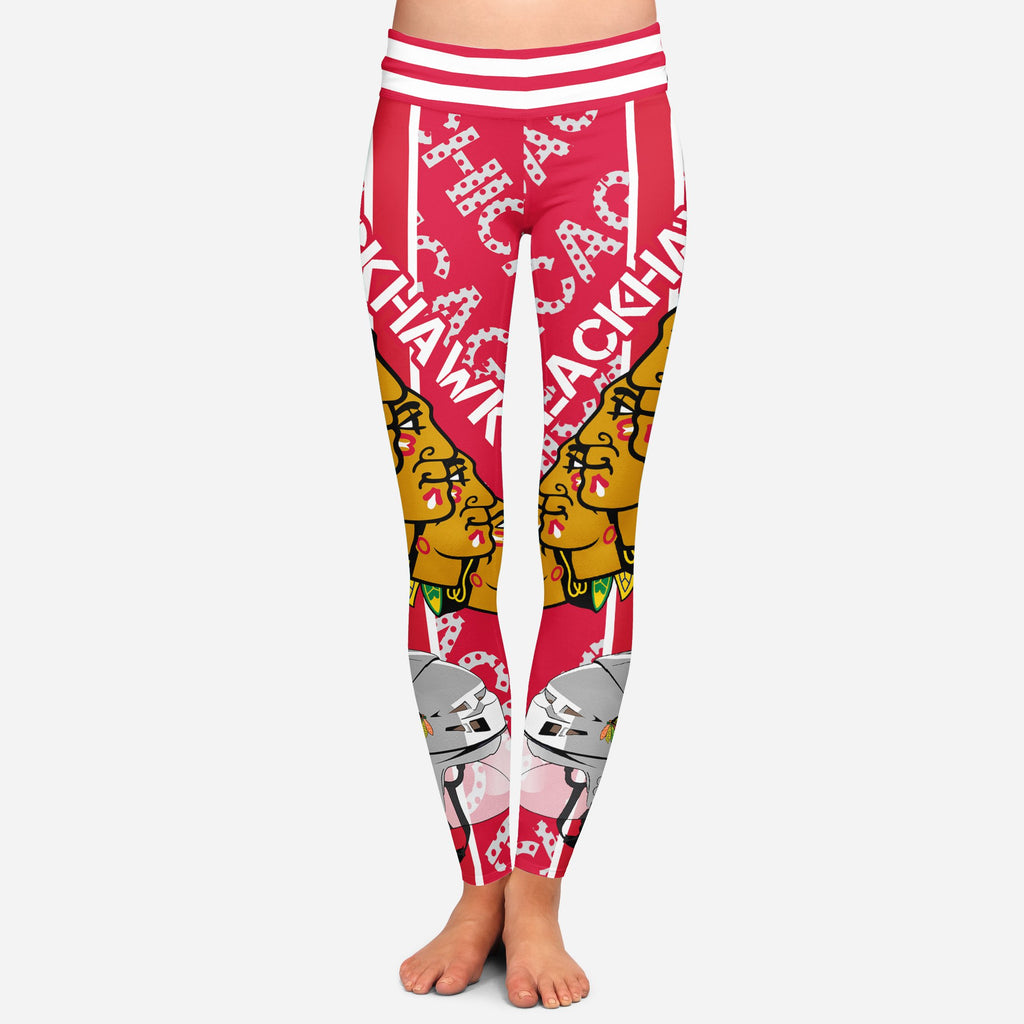Sign Marvelous Awesome Chicago Blackhawks Leggings