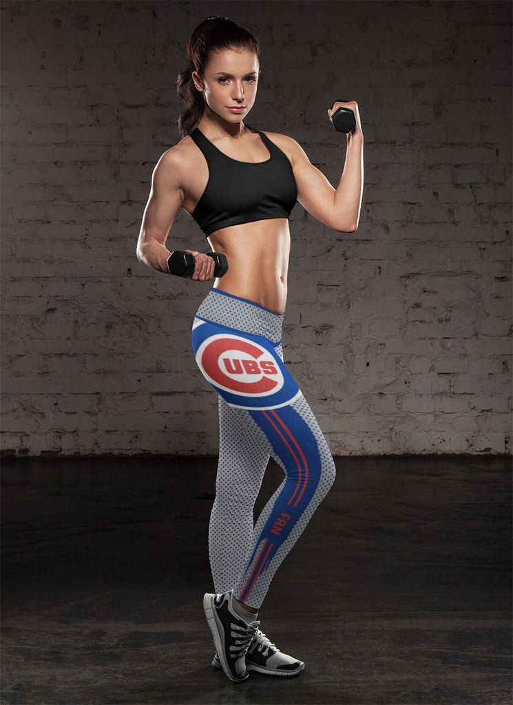 Charming Lovely Fashion Chicago Cubs Leggings