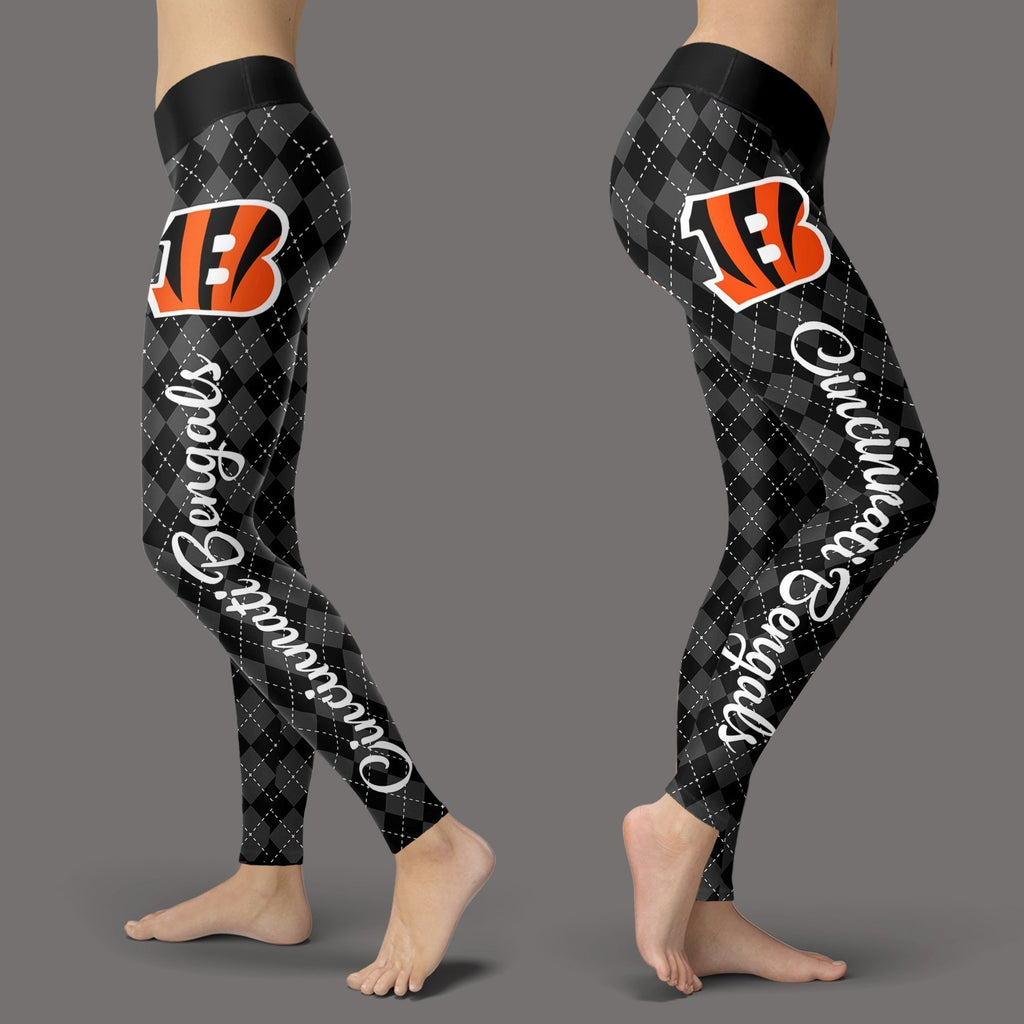 Cosy Seamless Colorful Cincinnati Bengals Leggings