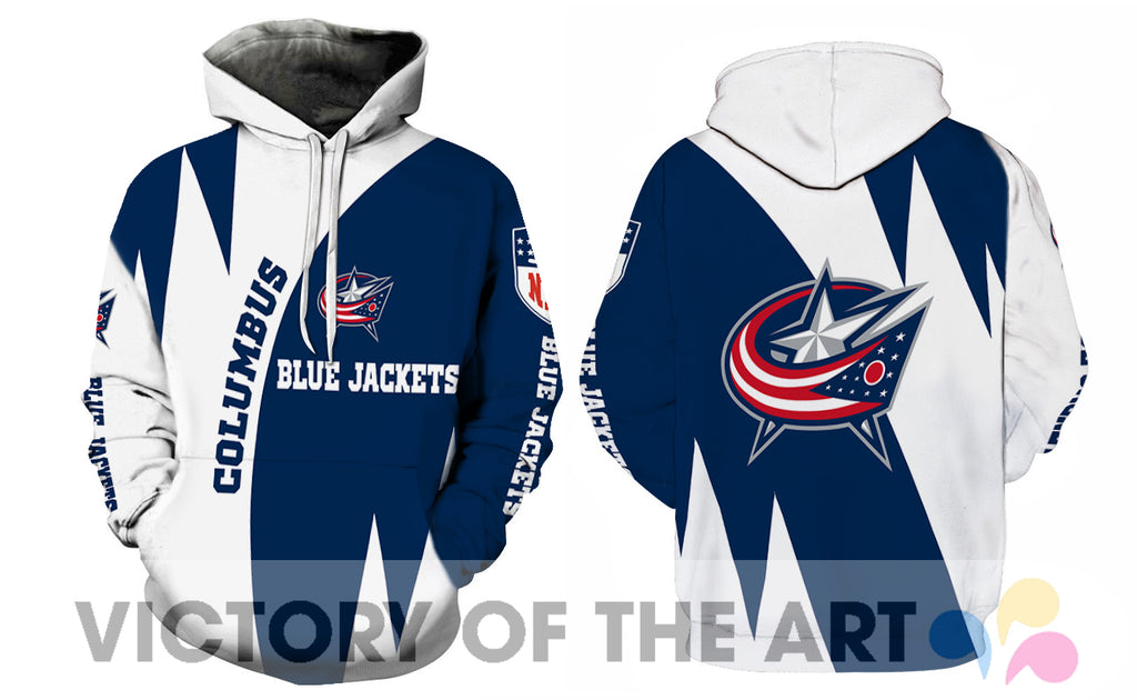 Stronger With Unique Columbus Blue Jackets Hoodie
