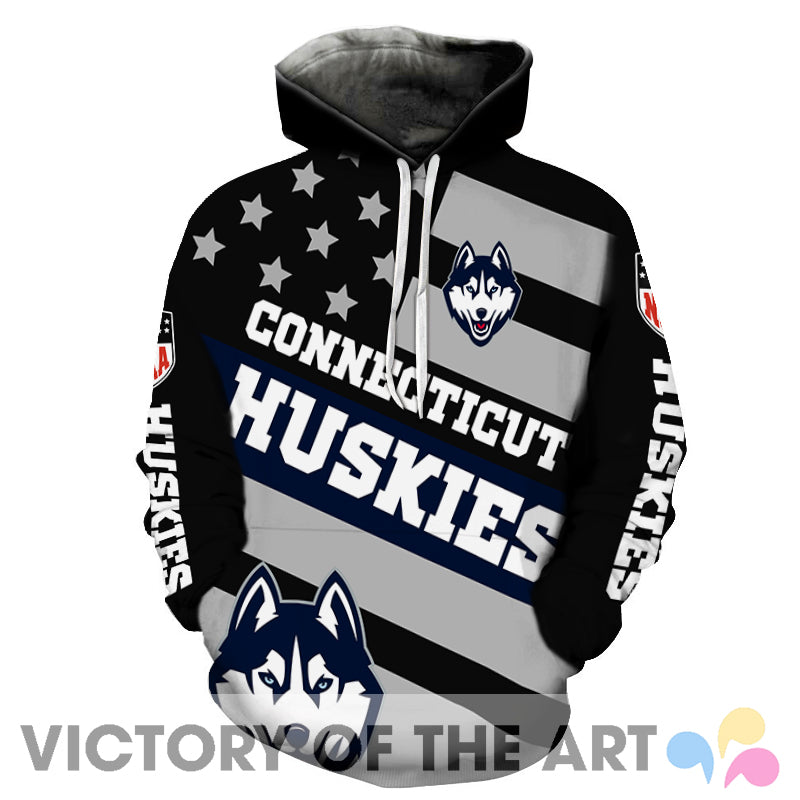 American Stars Proud Of Connecticut Huskies Hoodie