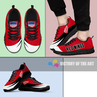 Special Gift Logo Detroit Red Wings Sneakers