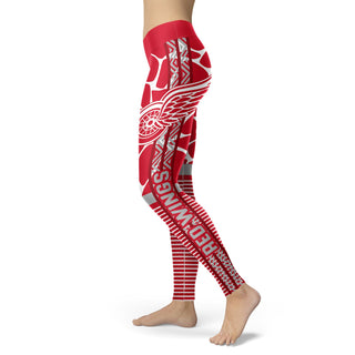 Awesome Light Attractive Detroit Red Wings Leggings