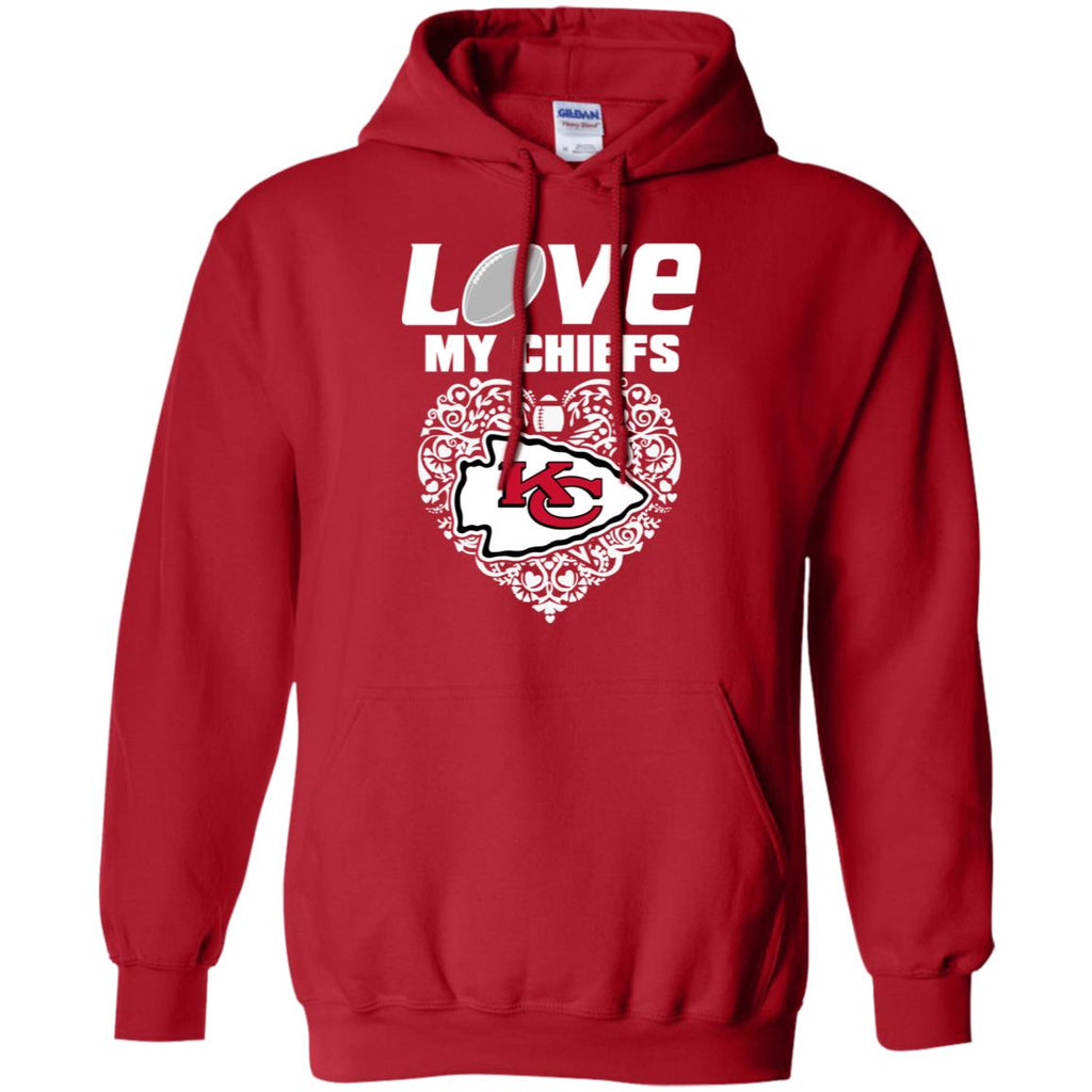 I Love My Teams Kansas City Chiefs T Shirt