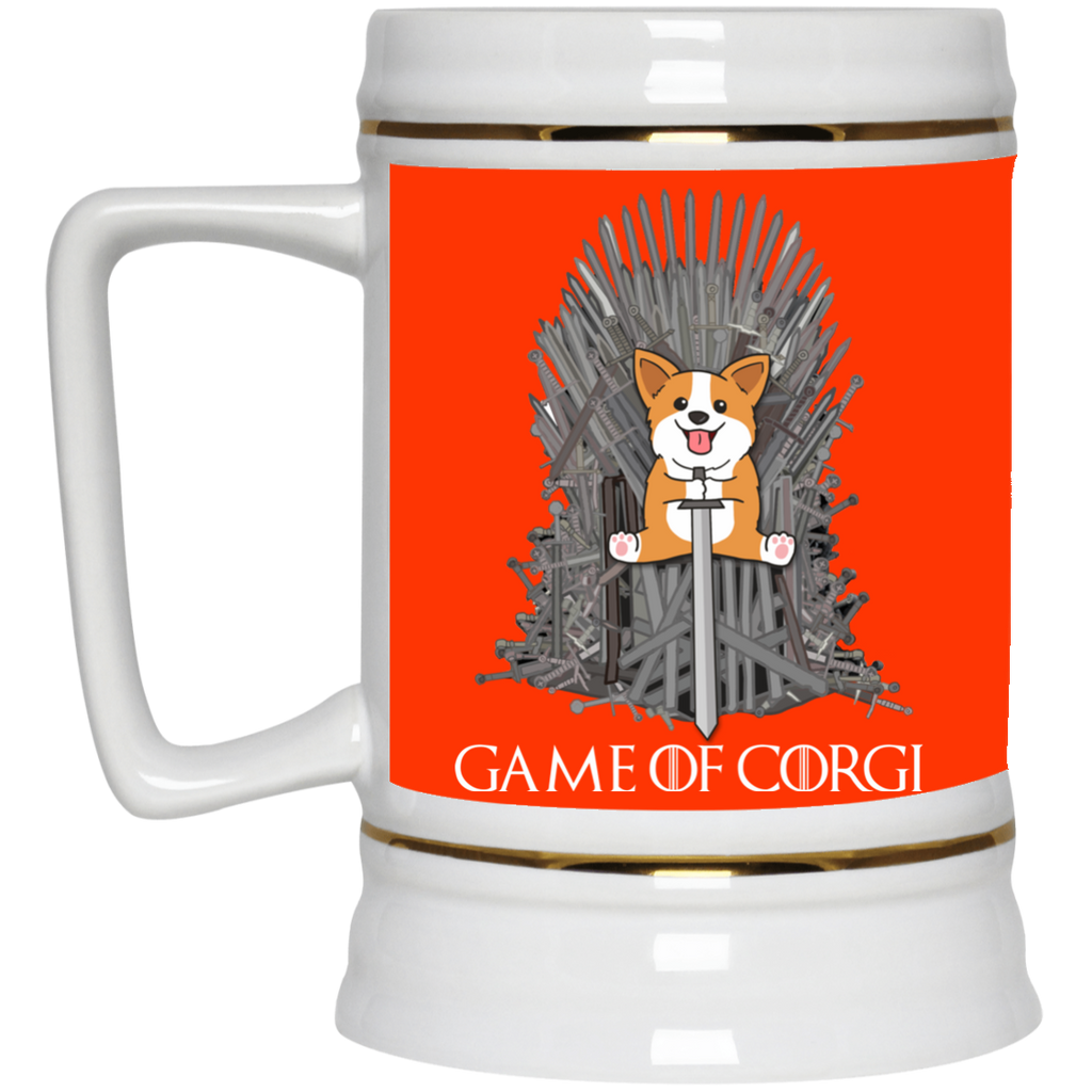 Cute Corgi Mugs - Game Of Corgi, is cool gift for your friends