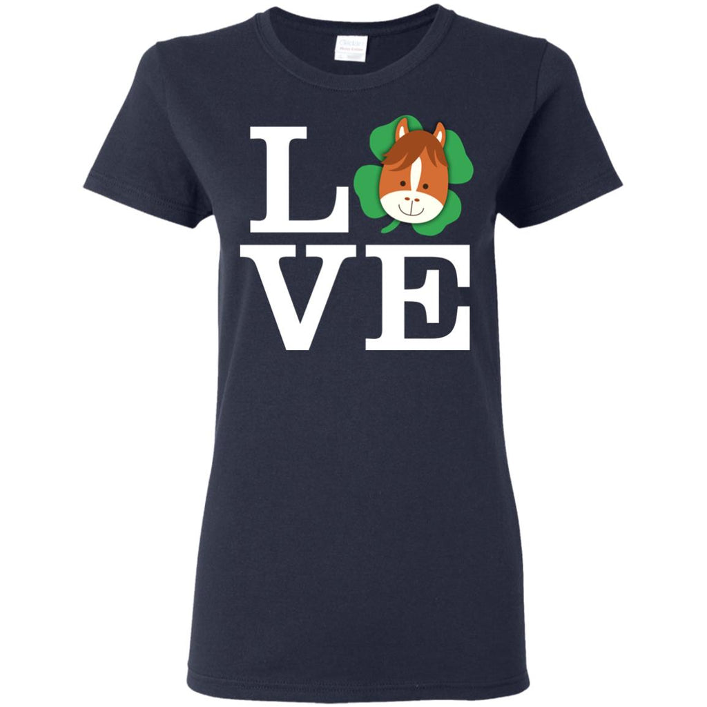 Funny Horse Shirt Love Animals For Equestrian Gift Tshirt