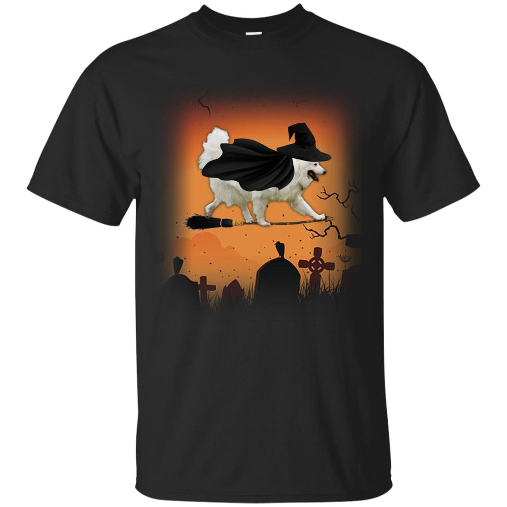 Halloween Hoodie For Witch Samoyed Lovers Tshirt As Sammy Dog Gift