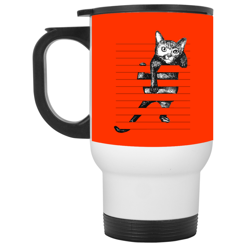 Nice Cat Black Mugs - Cat Hanging, is cool gift for your friends