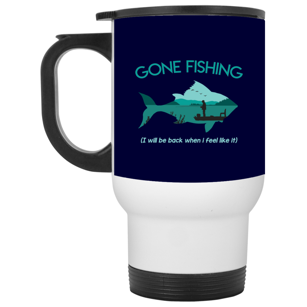 Gone Fishing Mugs