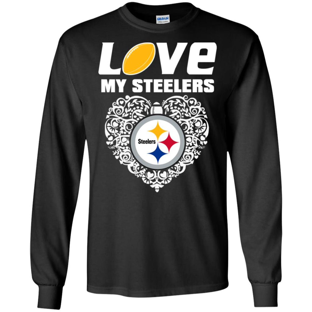 I Love My Teams Pittsburgh Steelers T Shirt