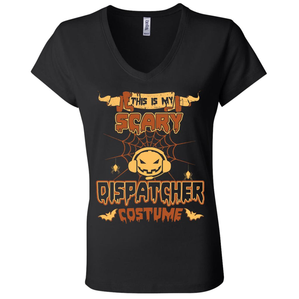 This Is My Scary Dispatcher Costume Halloween Tee Shirt