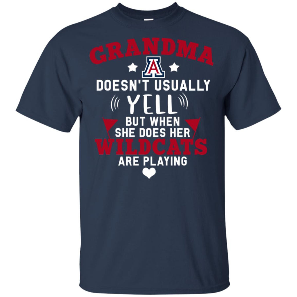 Cool But Different When She Does Her Arizona Wildcats Are Playing T Shirt