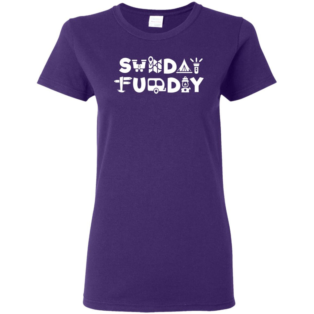 Nice Camping Tee Shirt Sunday Funday Camping is cool gift for you