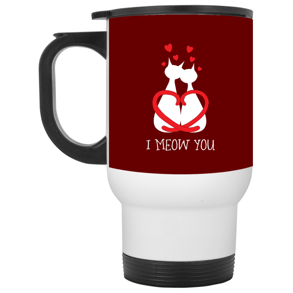 Nice Cat Mugs - I Meow You, is cool gift for friends and family