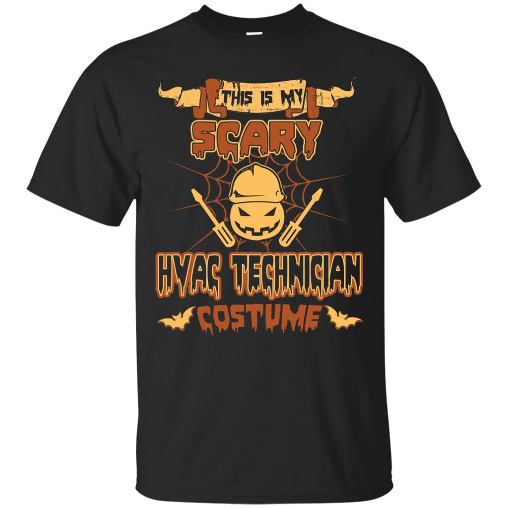 This Is My Scary HVAC Technician Costume Halloween Tee Shirt