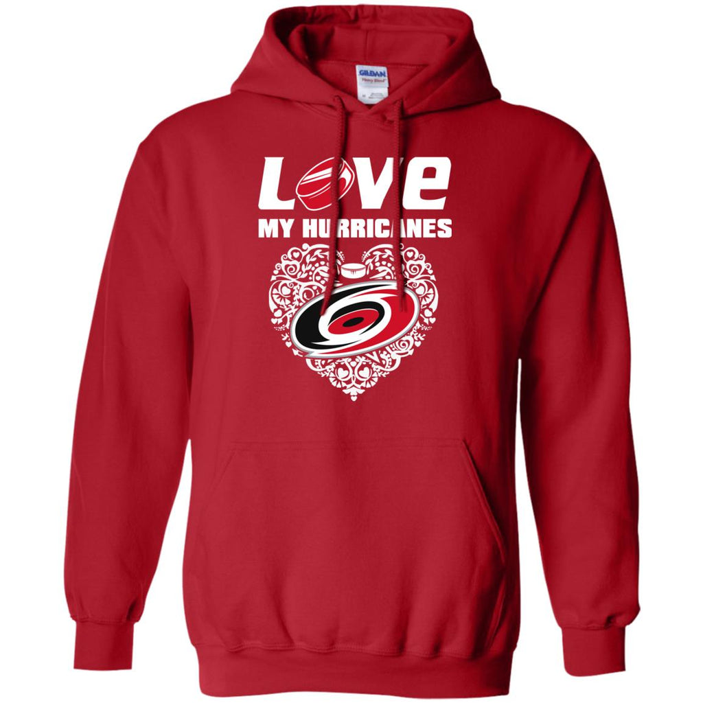 I Love My Teams Carolina Hurricanes T Shirt