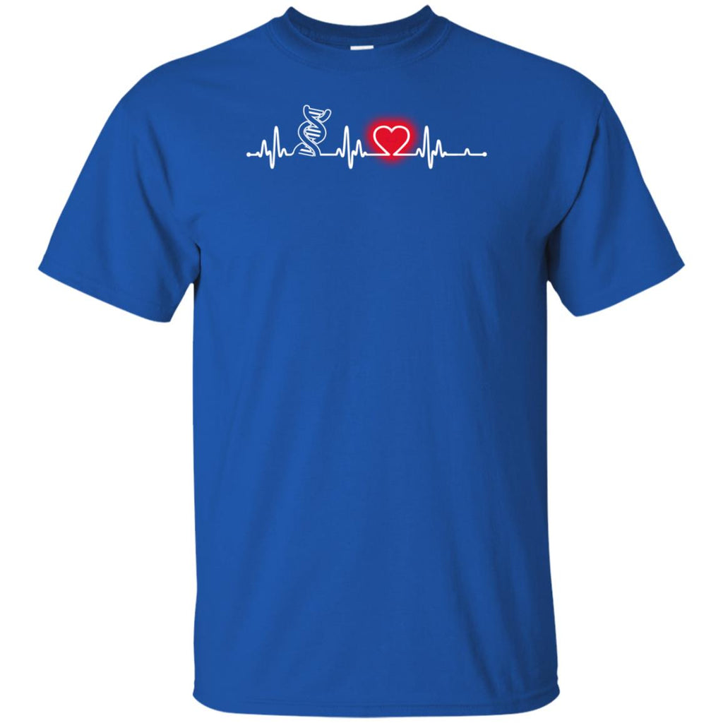 Heart Beat Red Biologist Tshirt for lover