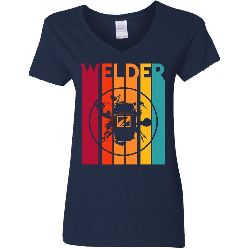 Retro Welder Vintage T Shirt
