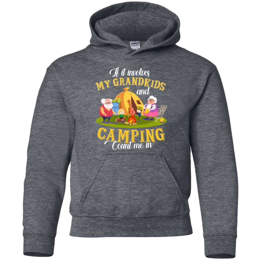 My Grandkids And Camping, Count Me In T Shirt