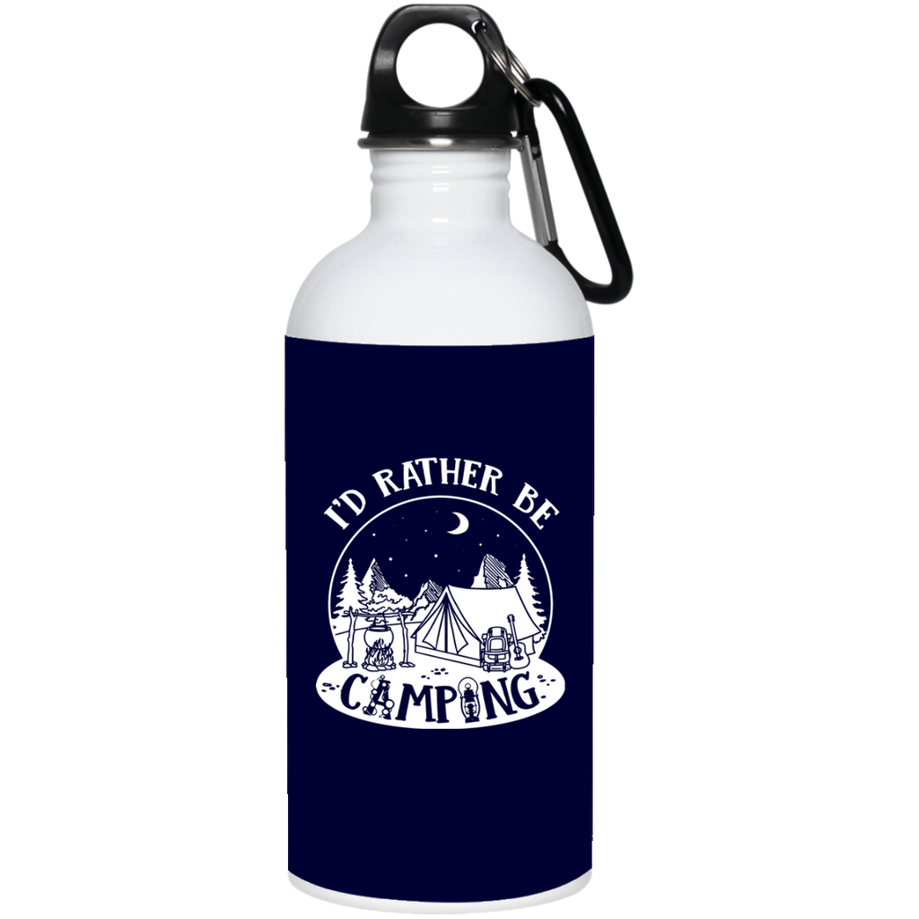 Nice Camping Mugs - I'd Rather Be Camping, is cool gift for friends