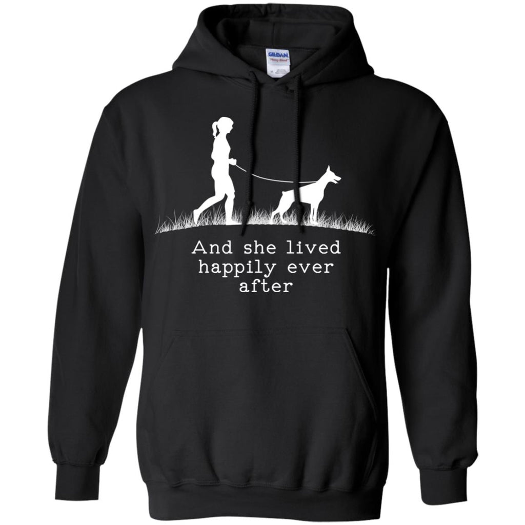 Dobermann Pinscher And She Lived Happily Ever After Dog Sweaters