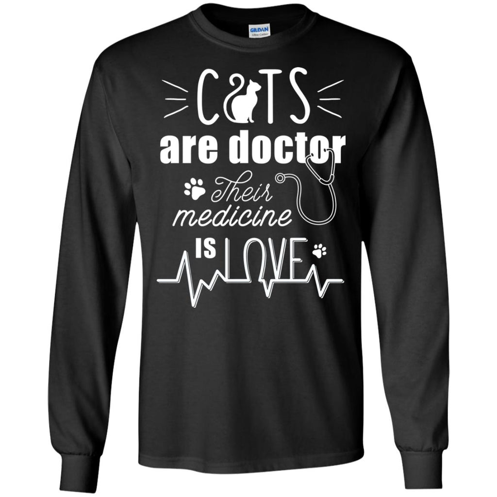 Nice Cat Tshirt Cat Are Doctors is cool gift for your friends