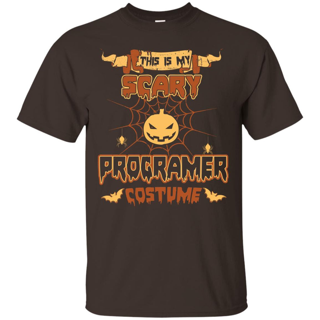 This Is My Scary Programer Costume Halloween Tee Shirt