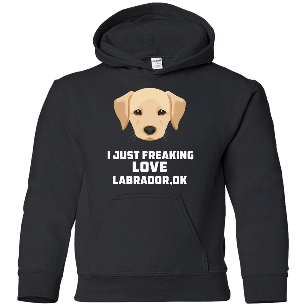 I Just Freaking Love Labrador Tshirt For Labra Dog gift