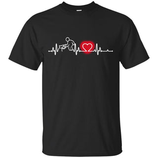 Heart Beat Red Dog Trainer Tshirt For Lover
