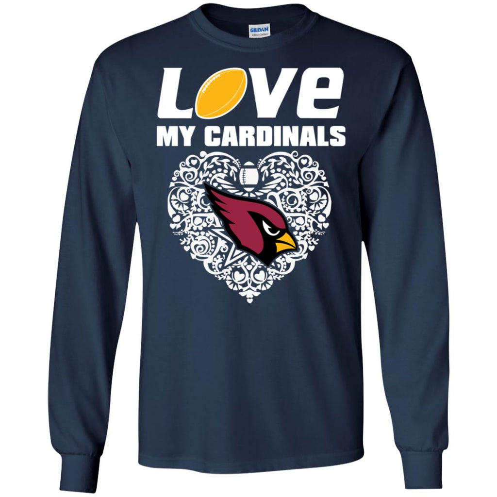 I Love My Teams Arizona Cardinals T Shirt