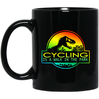 Cycling Is A Walk In The Park Mugs