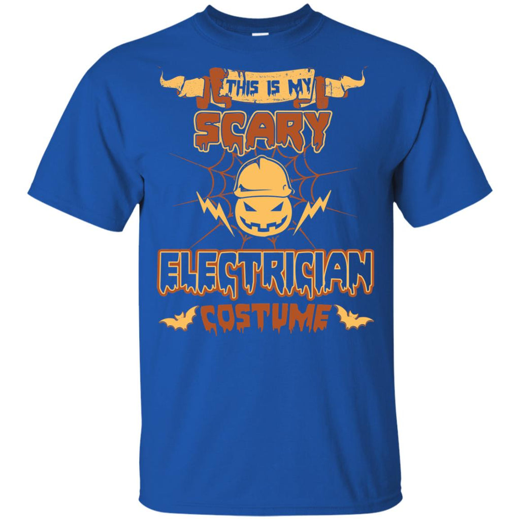This Is My Scary Electrician Costume Halloween Tee Shirt