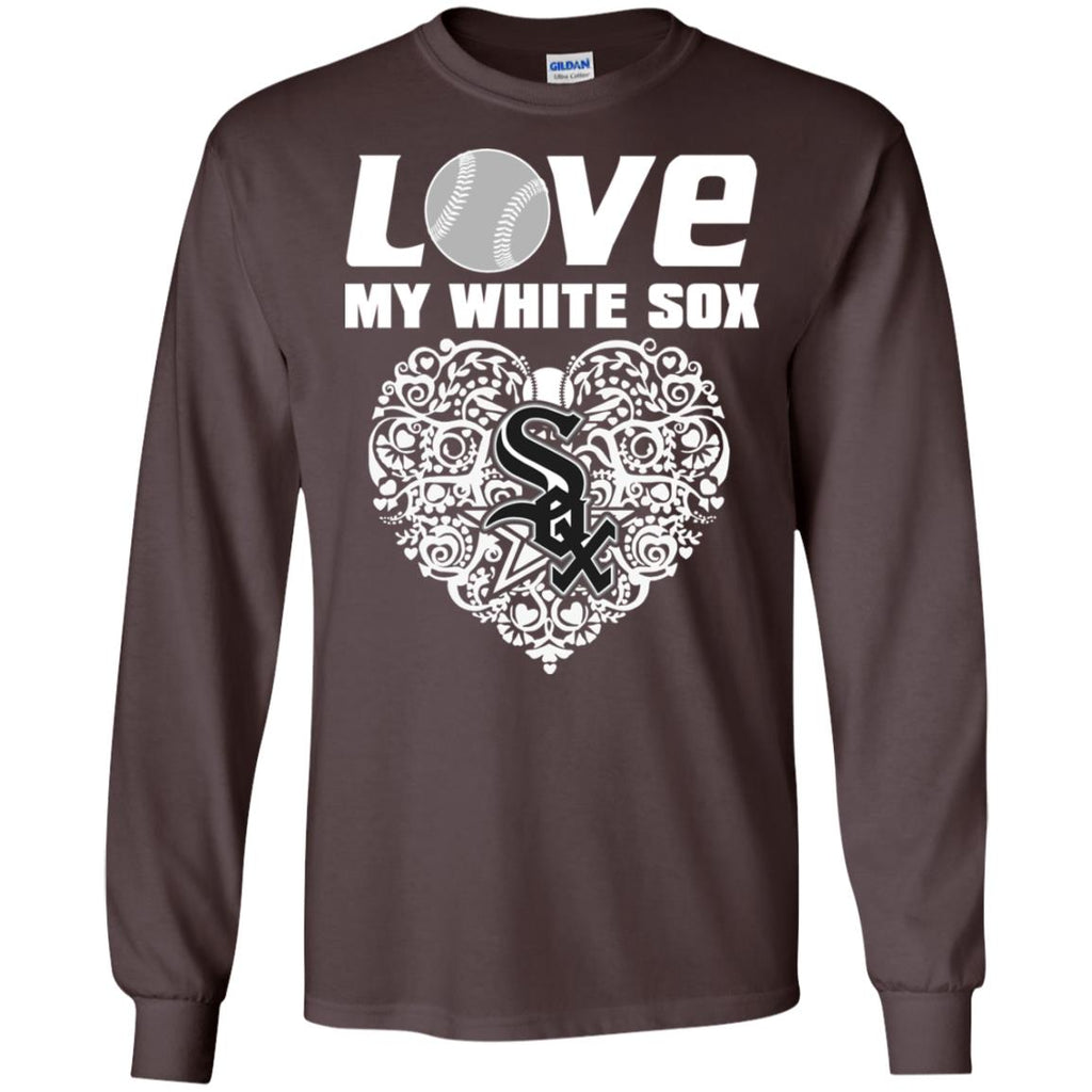 I Love My Teams Chicago White Sox T Shirt