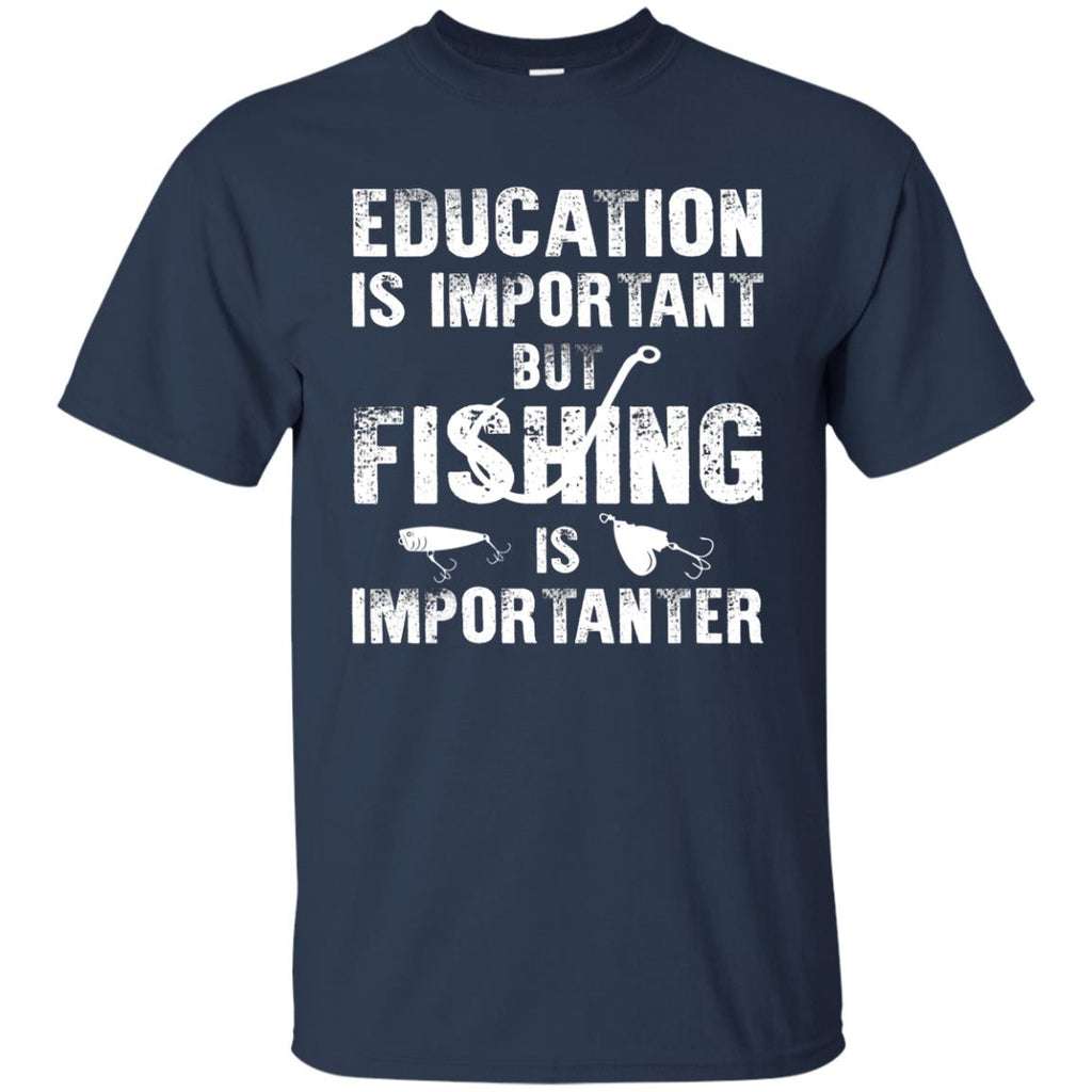 Fishing Is Importanter Fishing Tee Shirt for Fisher lovers