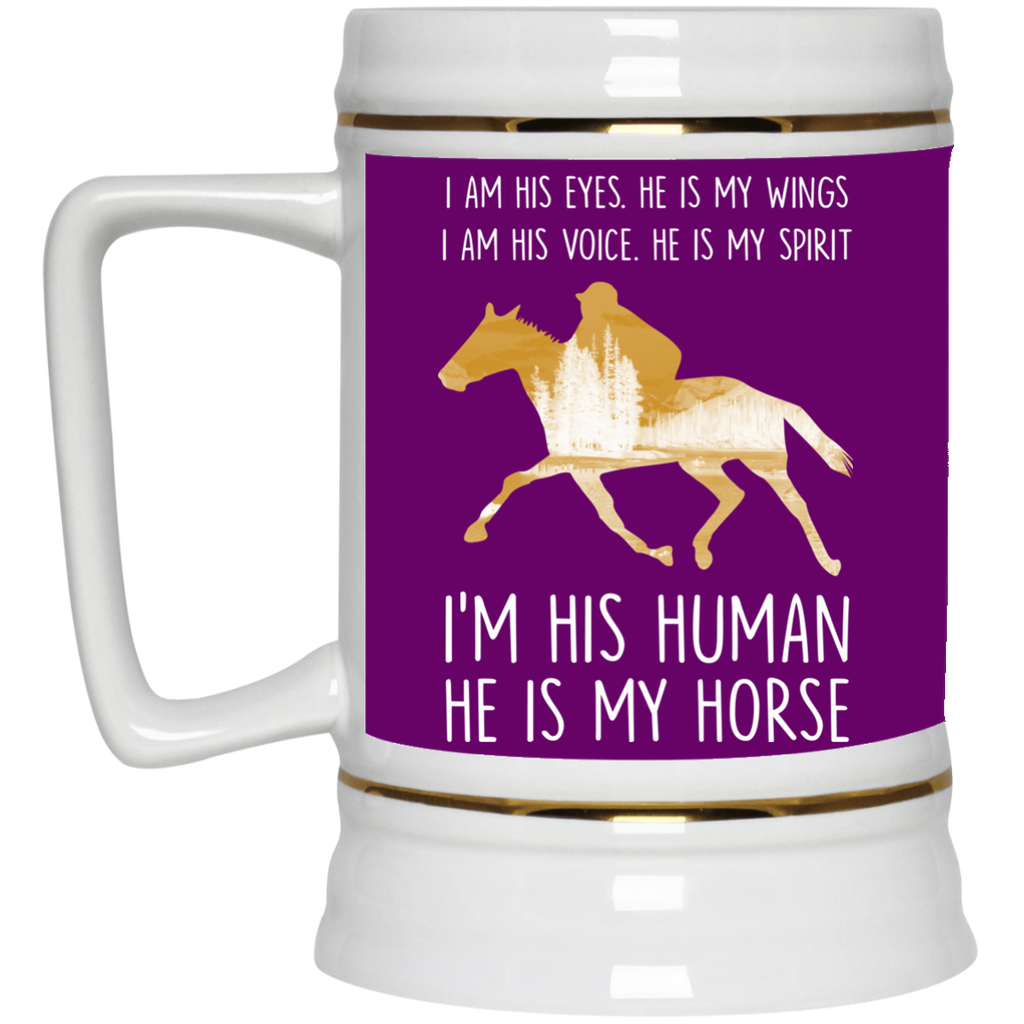 Nice Horse Mugs - He Is My Horse, is cool gift for your friends