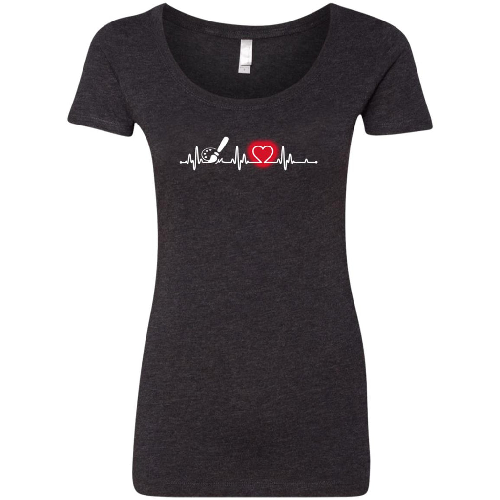 Heart Beat Red Preschool Teacher Tshirt For Lover