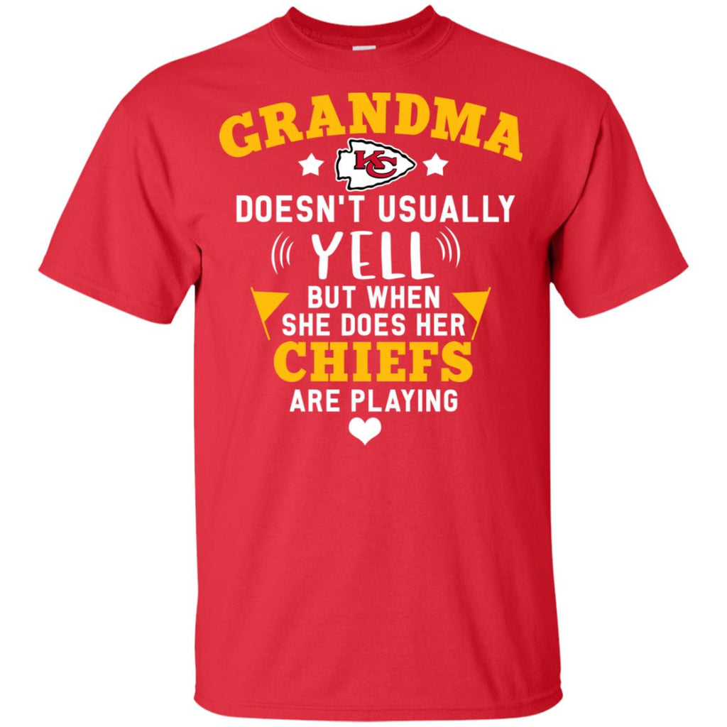 Cool But Different When She Does Her Kansas City Chiefs Are Playing Tshirt