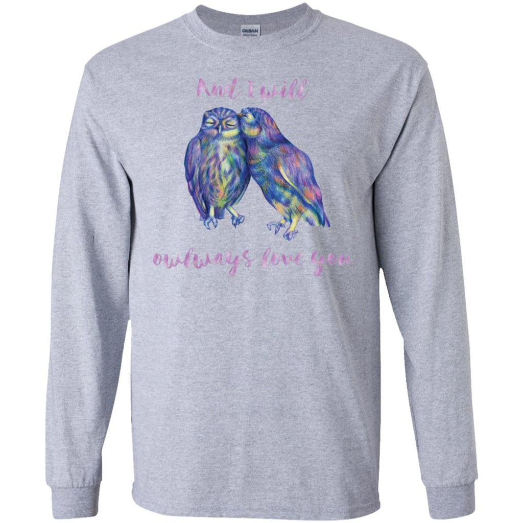 White Owl Tee Shirt - And I Owlways love you gift tshirt