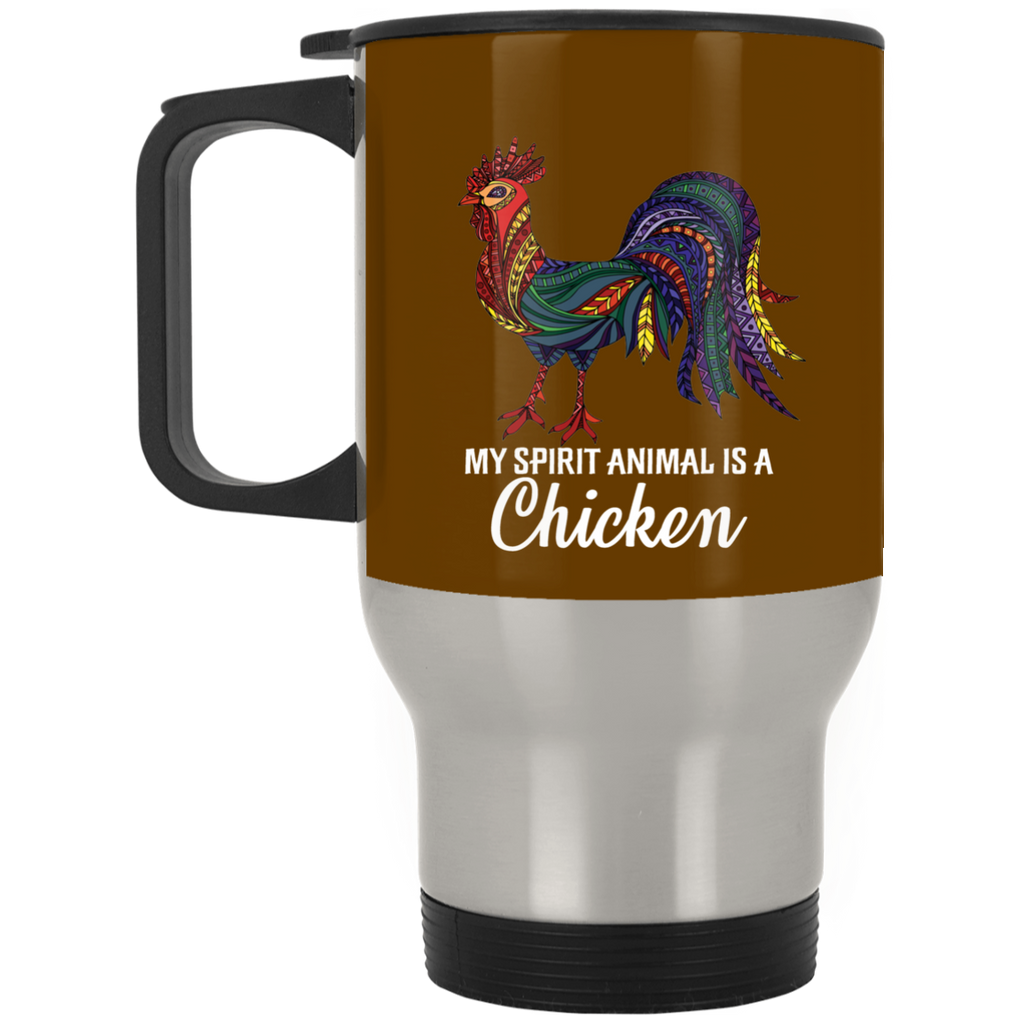 My Spirit Animal Is A Chicken Mugs