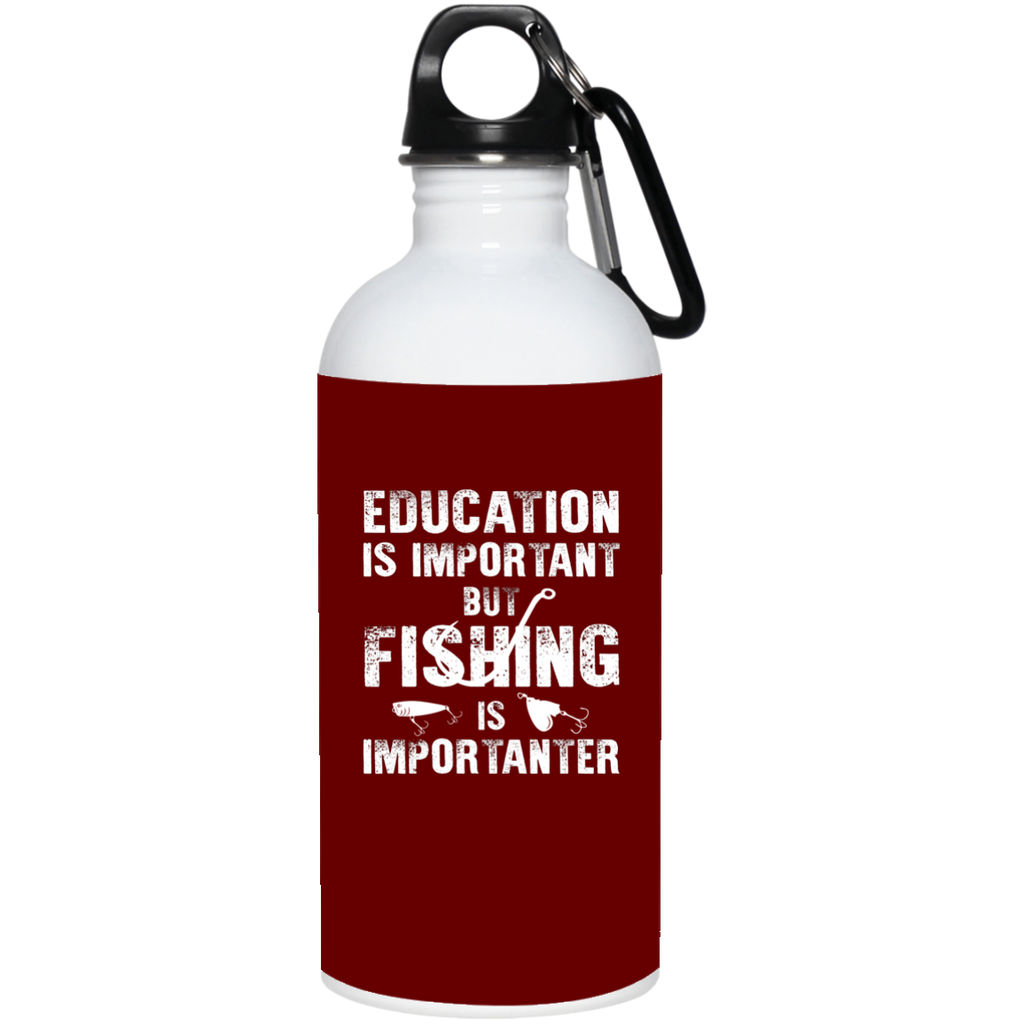 Fishing Is Importanter Fishing Mugs
