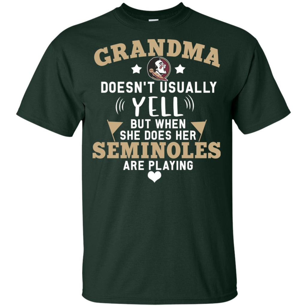 Cool But Different When She Does Her Florida State Seminoles Are Playing T Shirt