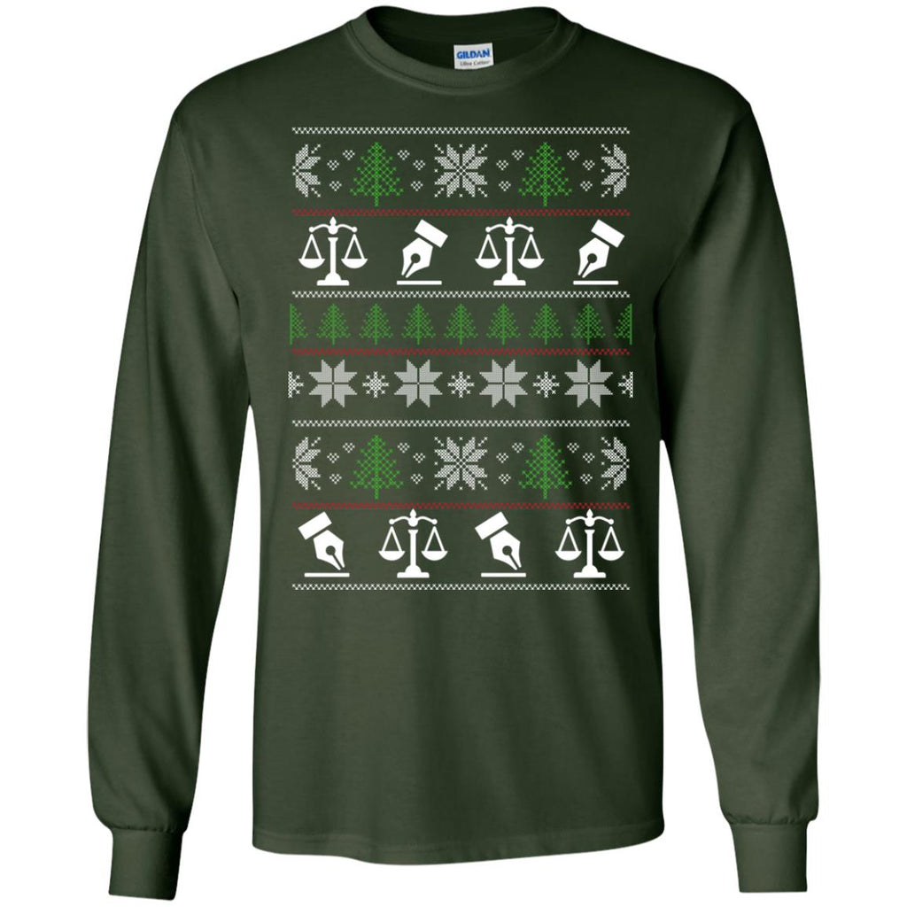 Ugly Sweater Paralegal Symbol Tee Shirt Gift