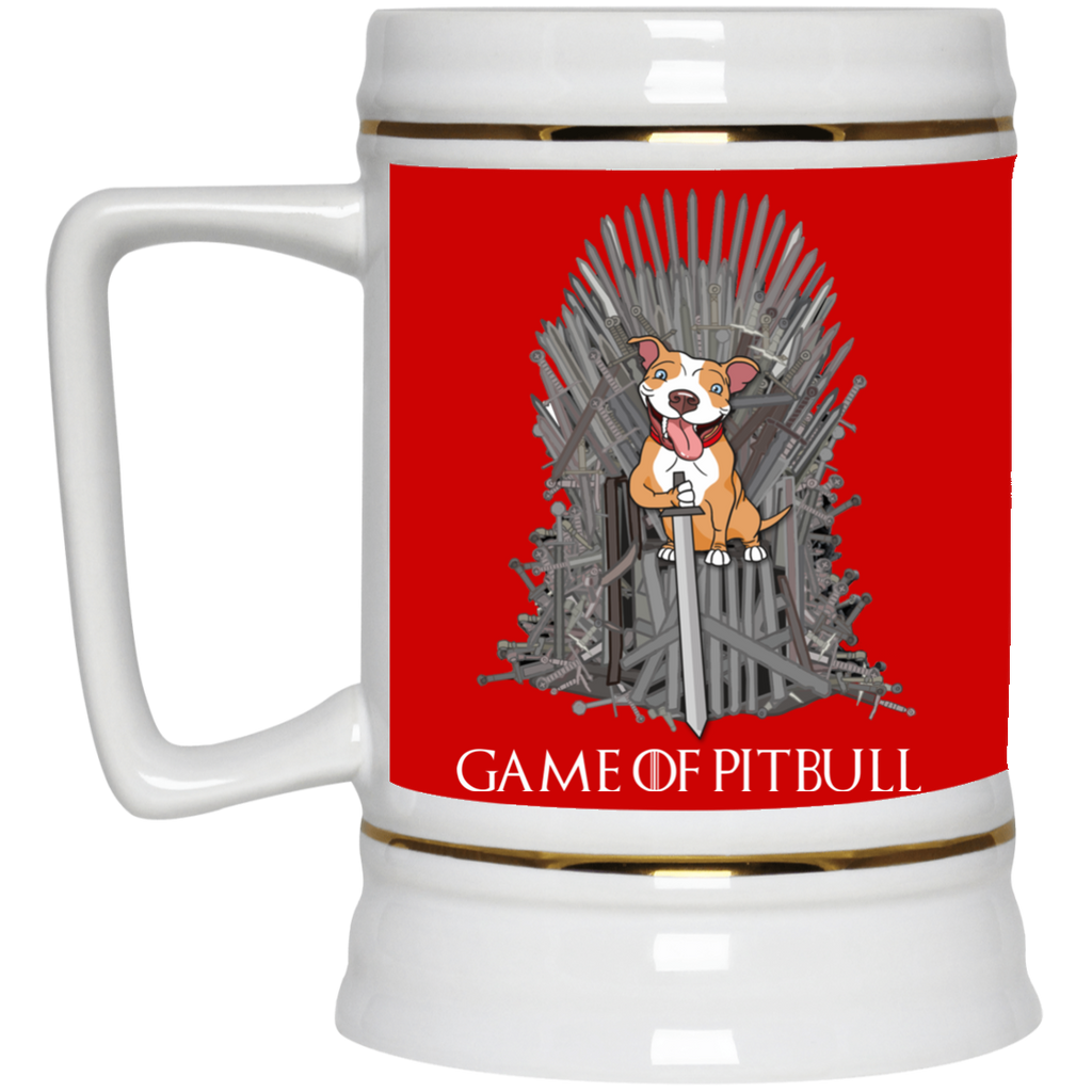 Cute Pitbull Mugs - Game Of Pitbull, is cool gift for your friends