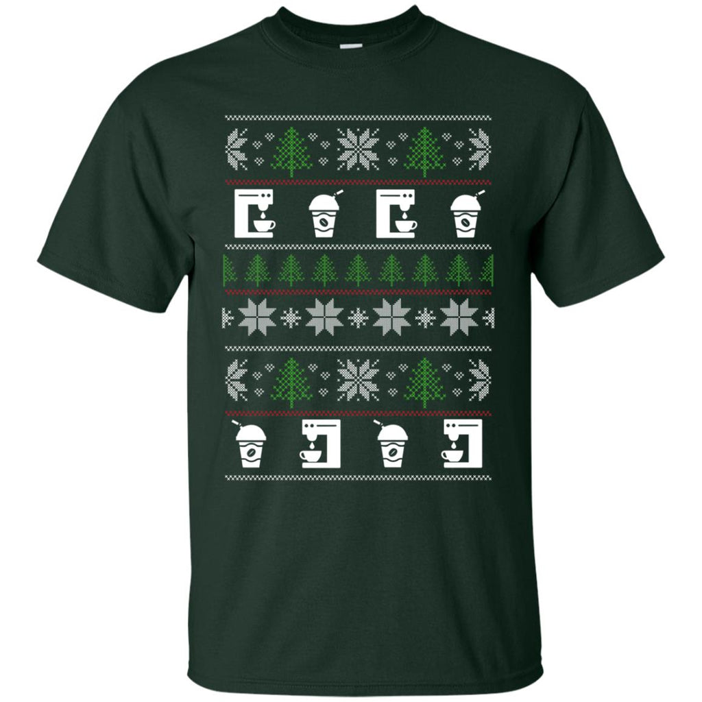 Ugly Sweater Cafeteria Worker Symbol T Shirts