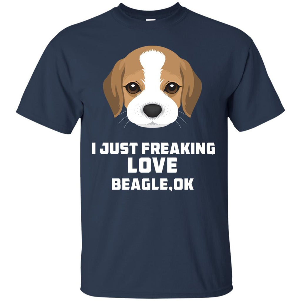 I Just Freaking Love Beagle Tshirt For puppy lover