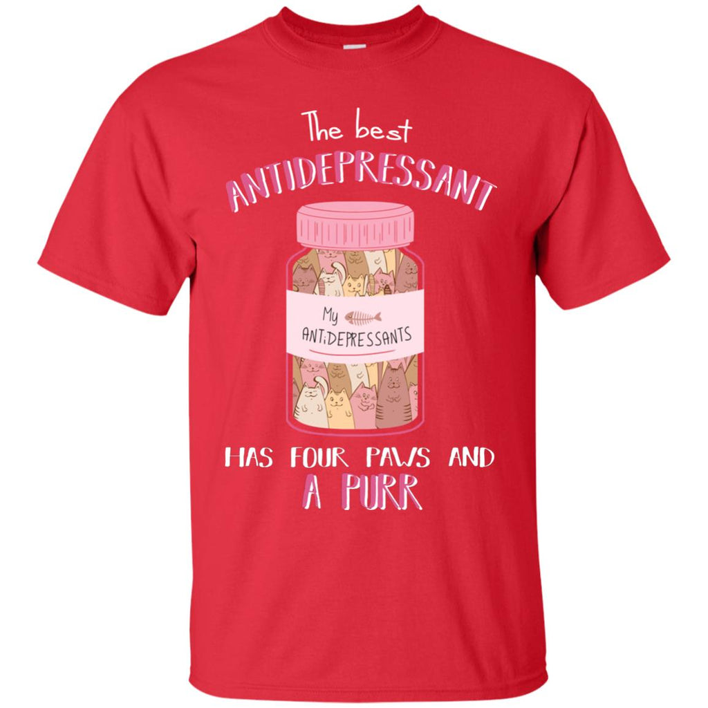 The Most Powerful Antidepressant Cat Tshirt For Lover