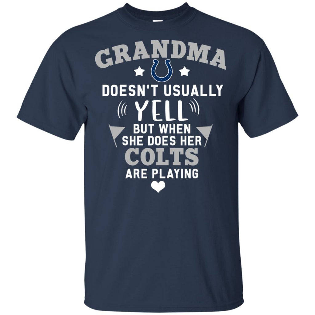 Cool But Different When She Does Her Indianapolis Colts Are Playing Tshirt
